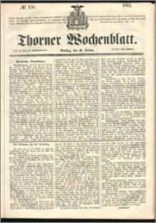 Thorner Wochenblatt 1861, No. 130 + Beilage