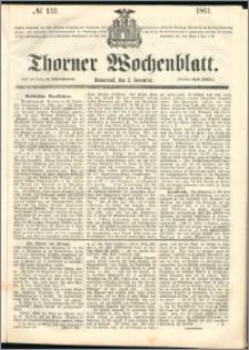 Thorner Wochenblatt 1861, No. 132