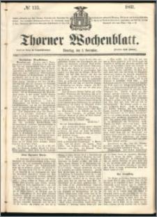 Thorner Wochenblatt 1861, No. 133