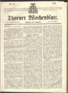 Thorner Wochenblatt 1861, No. 135 + Beilage