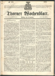 Thorner Wochenblatt 1861, No. 139