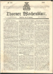 Thorner Wochenblatt 1861, No. 140