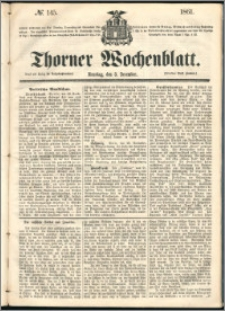Thorner Wochenblatt 1861, No. 145
