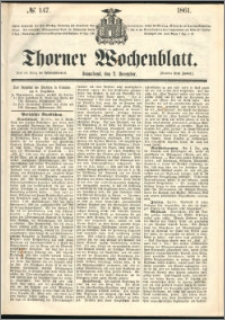 Thorner Wochenblatt 1861, No. 147