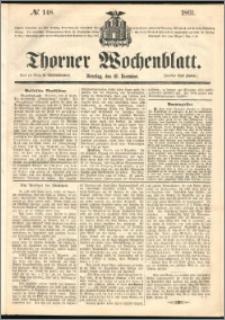 Thorner Wochenblatt 1861, No. 148