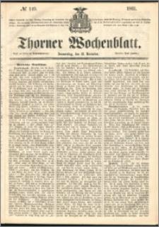 Thorner Wochenblatt 1861, No. 149 + Beilage