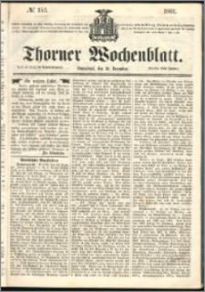 Thorner Wochenblatt 1861, No. 153 + Beilage