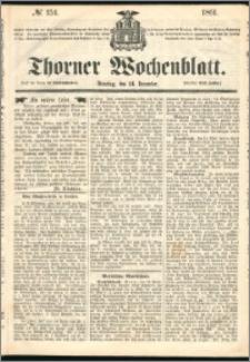 Thorner Wochenblatt 1861, No. 154