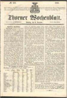 Thorner Wochenblatt 1861, No. 156