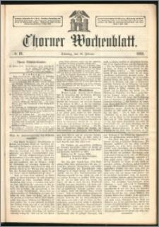 Thorner Wochenblatt 1862, No. 18