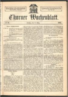 Thorner Wochenblatt 1862, No. 30 + Beilage