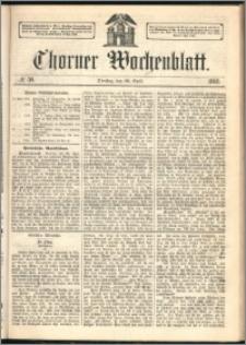 Thorner Wochenblatt 1862, No. 50