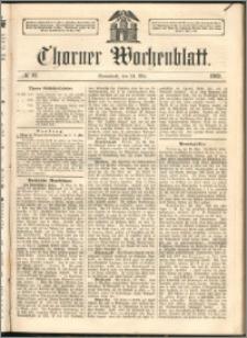 Thorner Wochenblatt 1862, No. 61 + Beilage