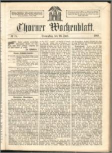 Thorner Wochenblatt 1862, No. 74