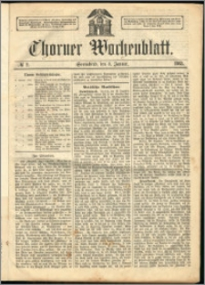 Thorner Wochenblatt 1863, No. 2 + Beilage