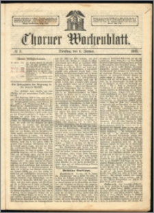 Thorner Wochenblatt 1863, No. 3