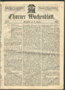 Thorner Wochenblatt 1863, No. 5