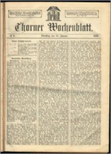 Thorner Wochenblatt 1863, No. 6 + Extra Beilage