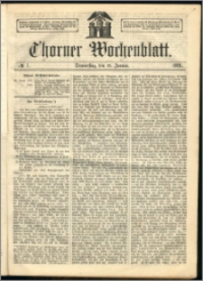 Thorner Wochenblatt 1863, No. 7
