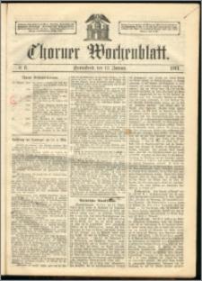 Thorner Wochenblatt 1863, No. 8