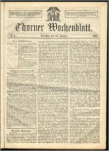 Thorner Wochenblatt 1863, No. 9