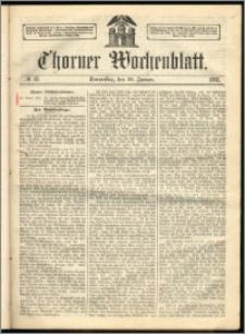 Thorner Wochenblatt 1863, No. 13 + Extra Beilage