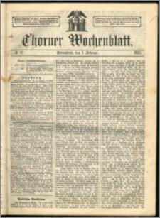 Thorner Wochenblatt 1863, No. 17