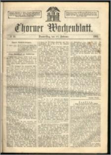 Thorner Wochenblatt 1863, No. 19