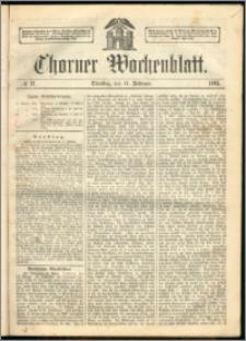 Thorner Wochenblatt 1863, No. 21