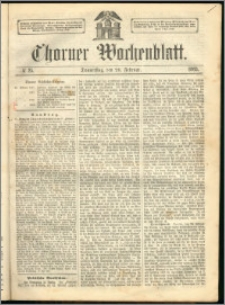 Thorner Wochenblatt 1863, No. 25