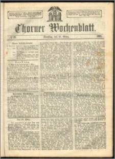 Thorner Wochenblatt 1863, No. 33