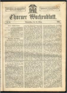 Thorner Wochenblatt 1863, No. 34