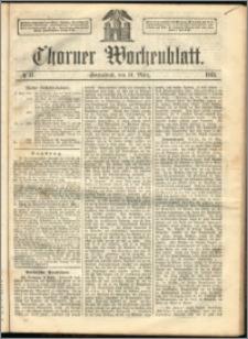 Thorner Wochenblatt 1863, No. 35