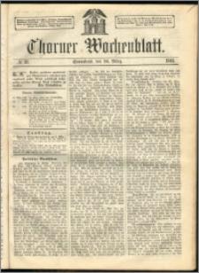 Thorner Wochenblatt 1863, No. 38 + Beilage