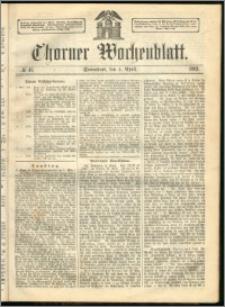 Thorner Wochenblatt 1863, No. 41
