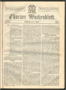 Thorner Wochenblatt 1863, No. 42 + Beilage