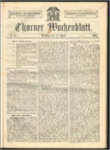 Thorner Wochenblatt 1863, No. 44