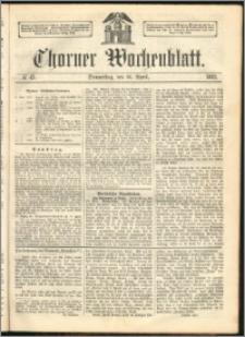 Thorner Wochenblatt 1863, No. 45