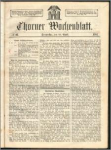 Thorner Wochenblatt 1863, No. 48