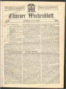 Thorner Wochenblatt 1863, No. 49