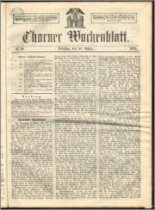 Thorner Wochenblatt 1863, No. 50