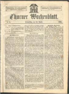 Thorner Wochenblatt 1863, No. 51 + Extra Beilage