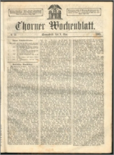 Thorner Wochenblatt 1863, No. 52
