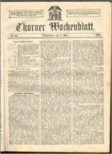 Thorner Wochenblatt 1863, No. 54