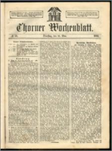 Thorner Wochenblatt 1863, No. 56 + Beilage