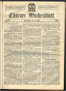 Thorner Wochenblatt 1863, No. 58