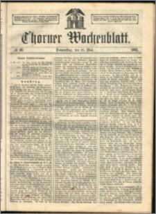 Thorner Wochenblatt 1863, No. 60 + Beilage, Extra Beilage