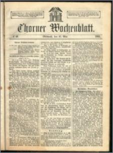 Thorner Wochenblatt 1863, No. 62