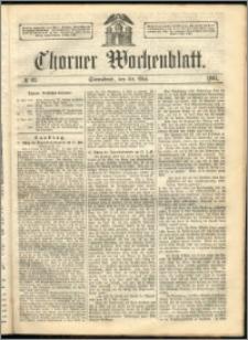 Thorner Wochenblatt 1863, No. 63 + Beilage