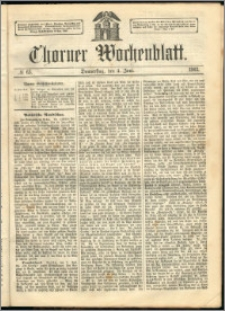 Thorner Wochenblatt 1863, No. 65